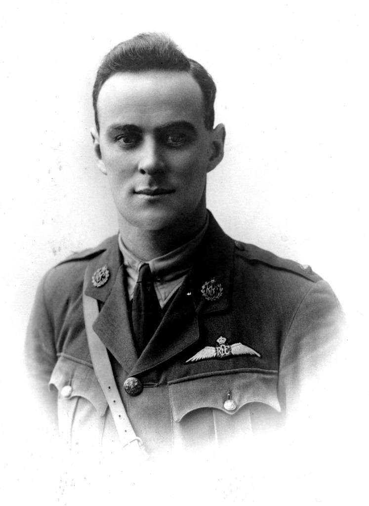 George Hood, soldier and pilot and the man Hood Aerodrome in  Masterton is named after