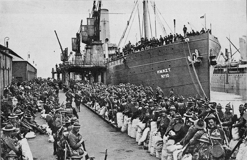 VOYAGE Arawa 1914