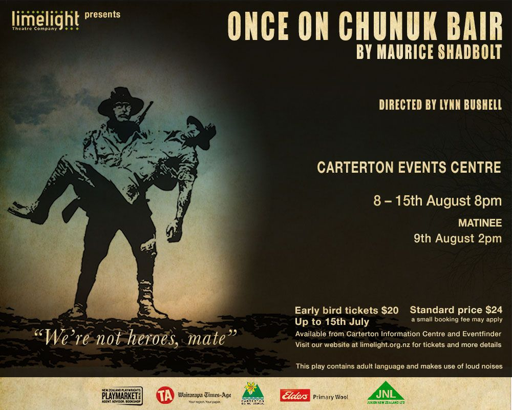 Once on Chunuk Bair artwork
